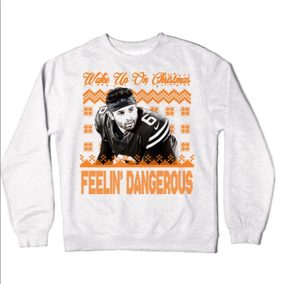 Shirts Baker Mayfield Christmas Sweatshirt Poshmark